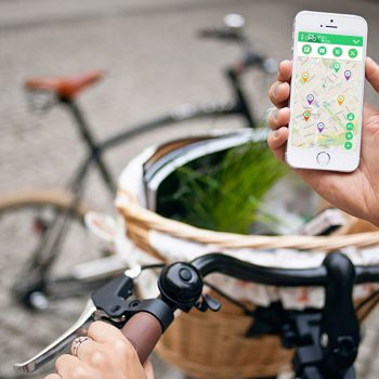 VeloPark iOS and Android app for bike lovers.