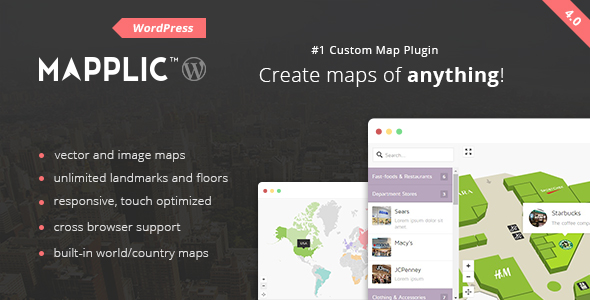 Mapplic WordPress Plugin