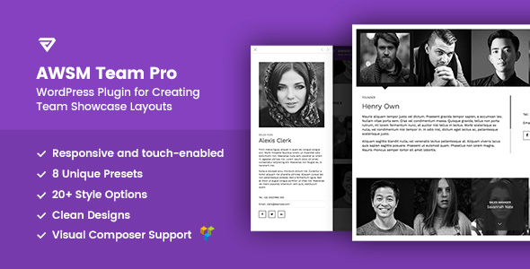 Team Pro WordPress Plugin