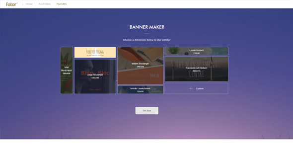 How to create attractive banners for Aparg SmartAd with Fotor