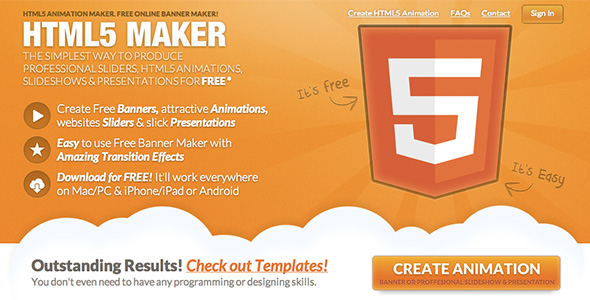 How to create attractive banners for Aparg SmartAd with HTML5 MAKER