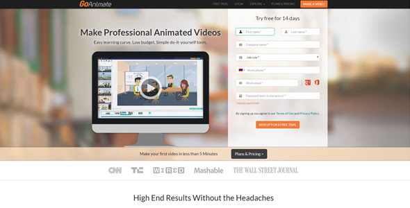 How to create an attractive advertising and marketing videos for Aparg SmartAd with online tools