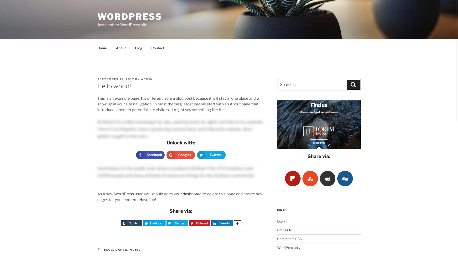 Aparg SmartSocial - WordPress Social Media Plugin - Aparg®